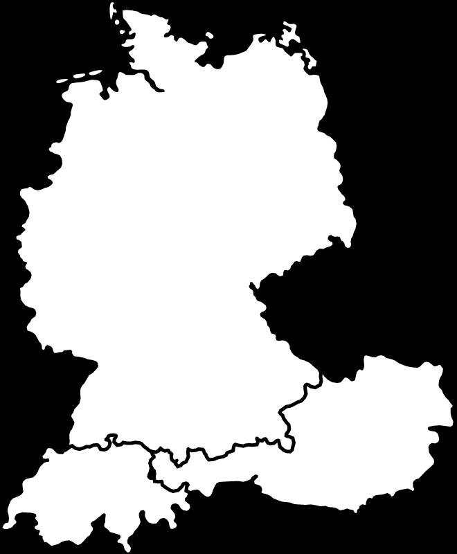 Lardis-Vertriebsgebiete: Deutschland, Österreich, Schweiz